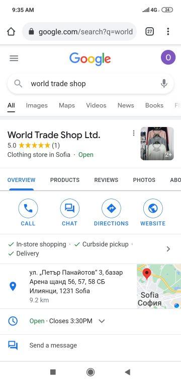 world trade shop