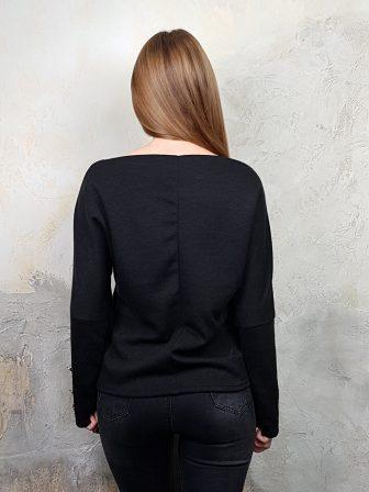 Дамска блуза с копчета на ръкавите WLS 2827 - 13