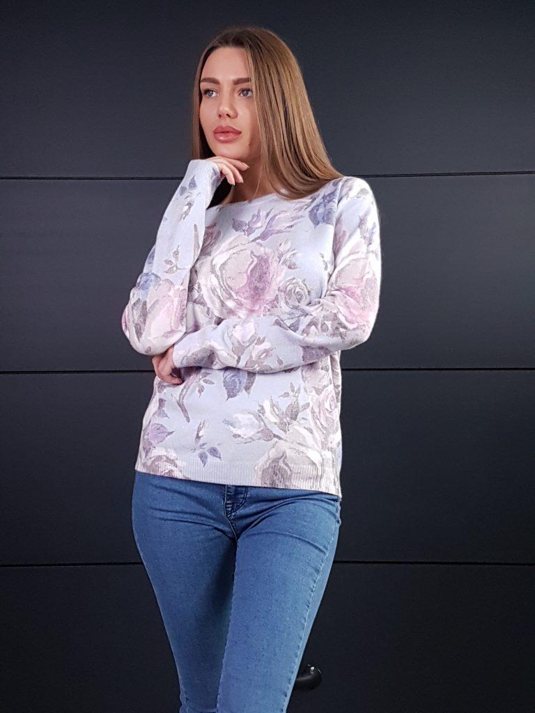 Дамска кашмирна блуза Louise Orop 5225 - 4