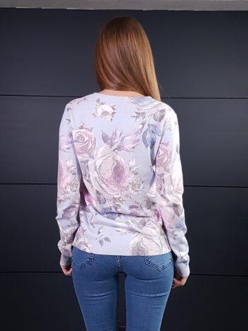 Дамска кашмирна блуза Louise Orop 5225 - 3