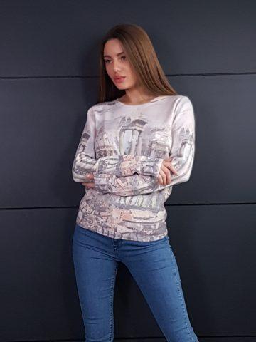 Дамска топла кашмирена блуза Louise Orop 5223 - 4