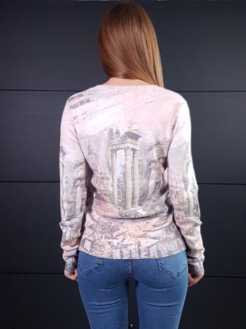 Дамска топла кашмирена блуза Louise Orop 5223 - 3