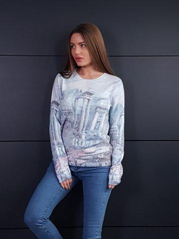 Дамска топла кашмирена блуза Louise Orop 5223