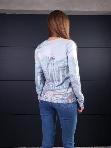 Дамска топла кашмирена блуза Louise Orop 5223 - 1