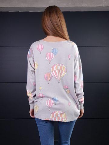 Дамска кашмирена блуза Balloons Minority 8687 - 0