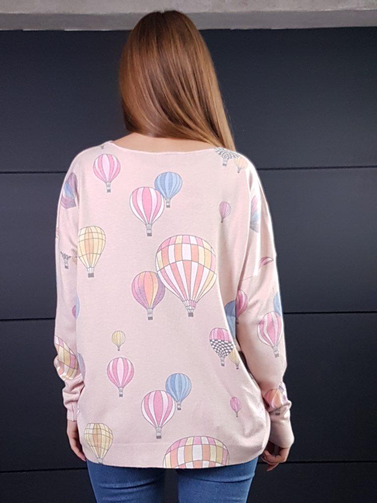 Дамска кашмирена блуза Balloons Minority 8687 - 4