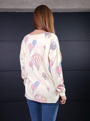Дамска кашмирена блуза Balloons Minority 8687 - 7