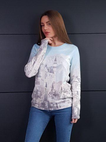Дамска топла кашмирена блуза Louise Orop 5222