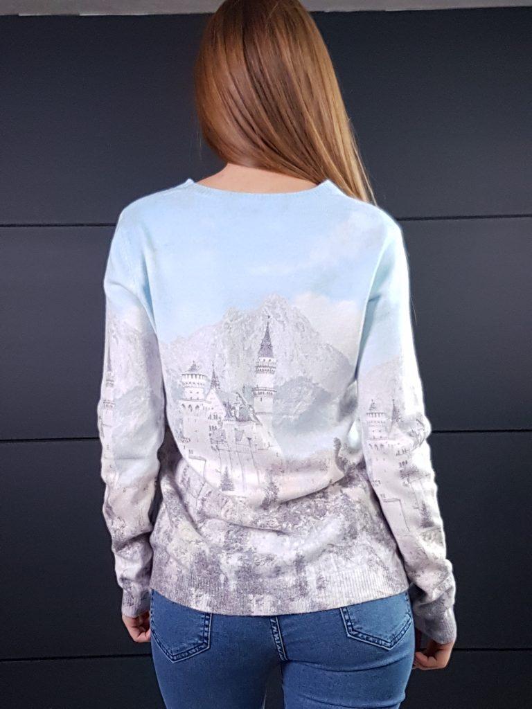 Дамска топла кашмирена блуза Louise Orop 5222 - 1