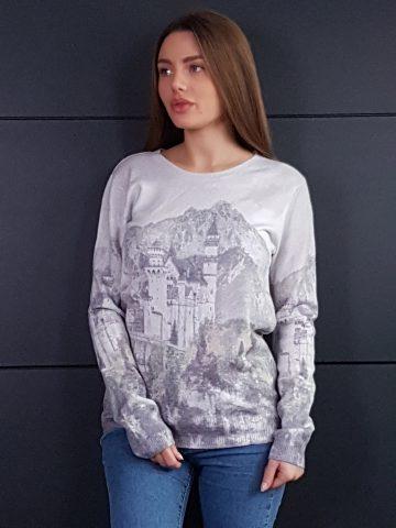 Дамска топла кашмирена блуза Louise Orop 5222 - 2