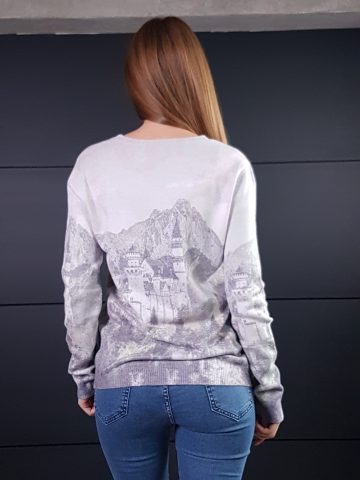 Дамска топла кашмирена блуза Louise Orop 5222 - 4
