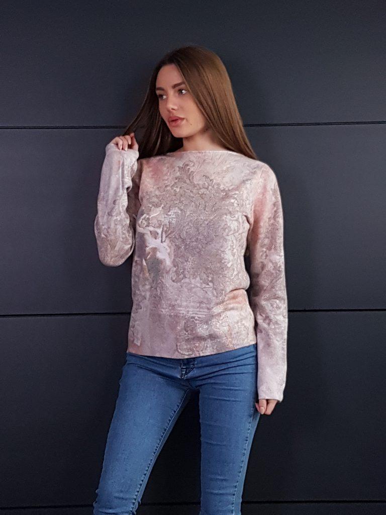 Дамска топла кашмирна блуза Louise Orop 5208 - 0