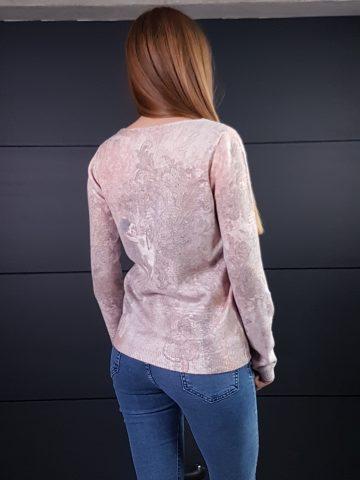 Дамска топла кашмирна блуза Louise Orop 5208 - 2