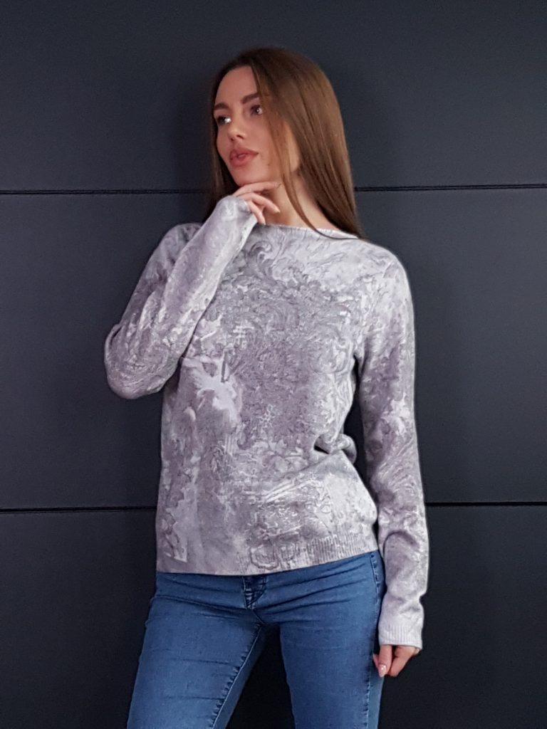 Дамска топла кашмирна блуза Louise Orop 5208 - 3
