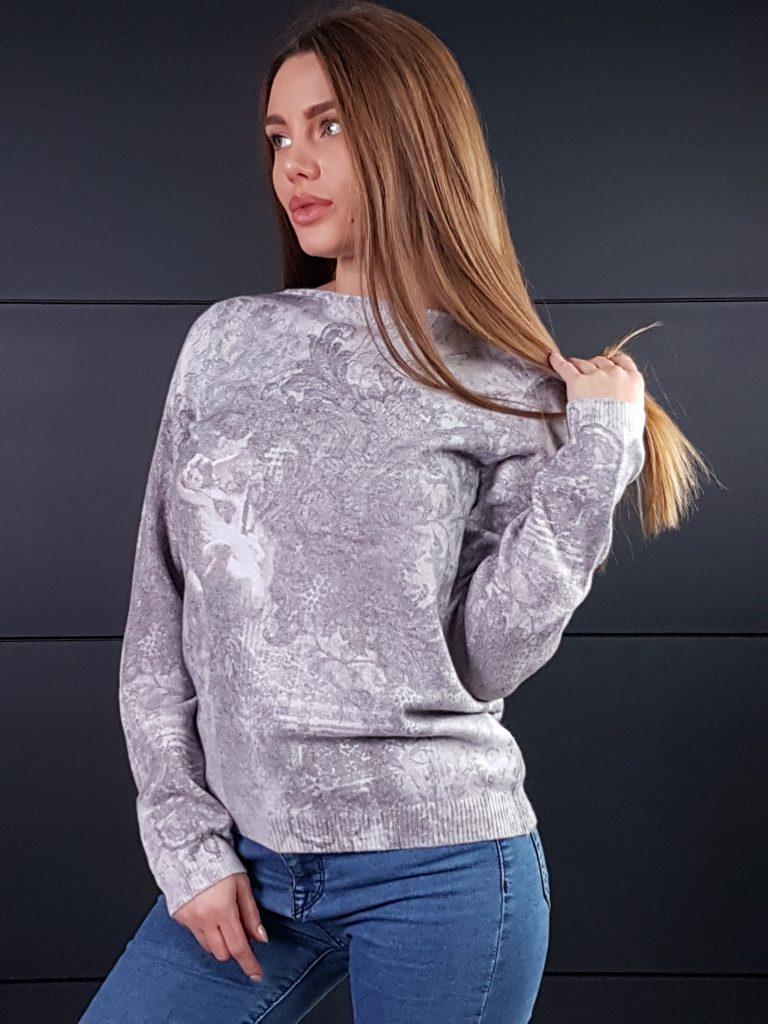 Дамска топла кашмирна блуза Louise Orop 5208 - 4