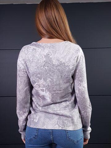 Дамска топла кашмирна блуза Louise Orop 5208 - 5