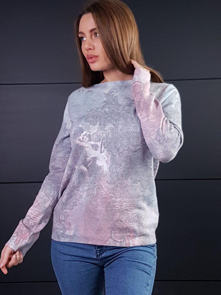Дамска топла кашмирна блуза Louise Orop 5208 - 6