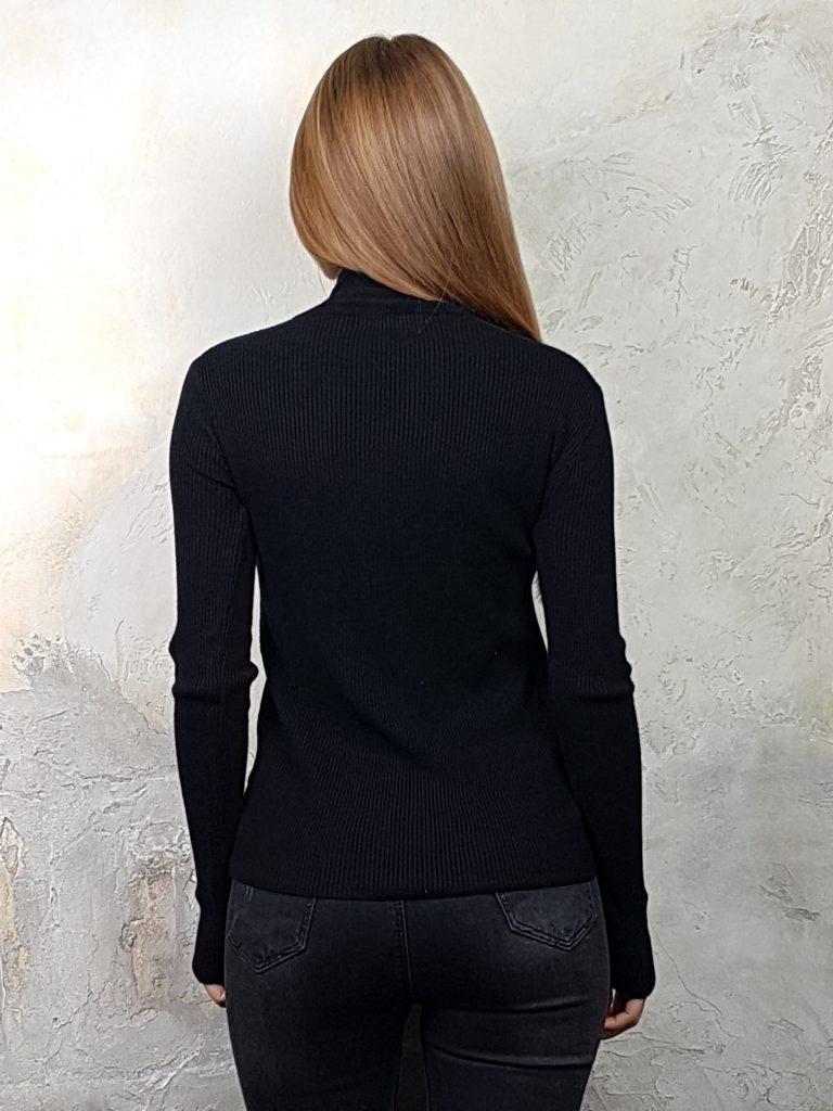 Дамска блуза с дантелено деколте Forest Bella 1336 - 6