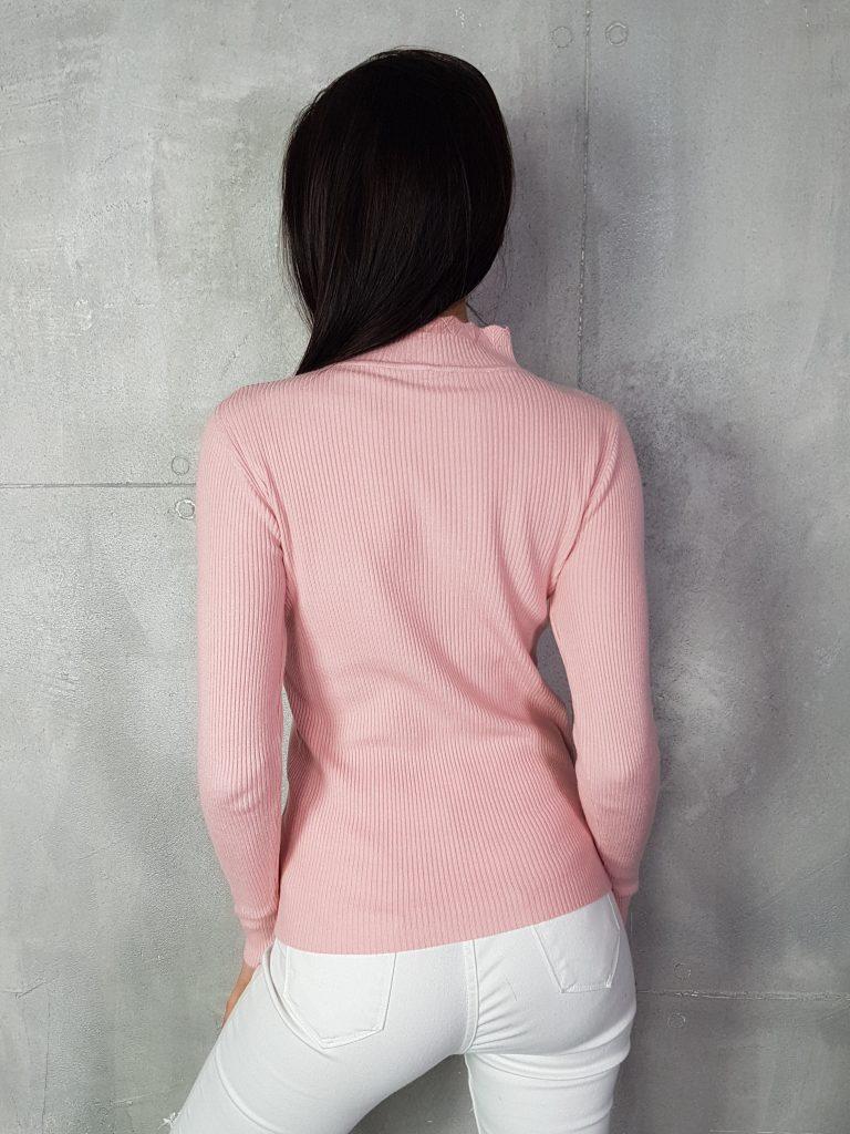 Стилна дамска блуза с дантела Foresta Bella 1257 - 3