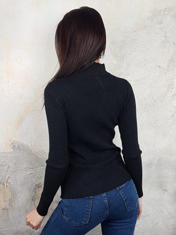 Стилна дамска блуза с дантела Foresta Bella 1257 - 7