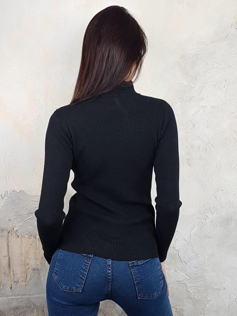 Дамска блуза с дантелено деколте Forest Bella 1336 - 10