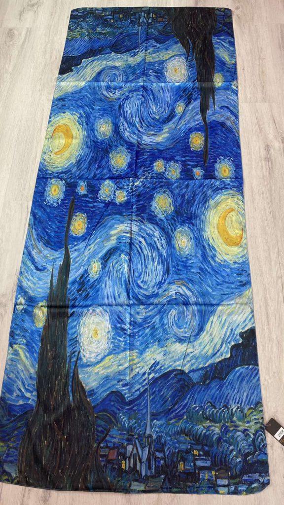 Шал The Starry Night - Vincent van Gogh 250