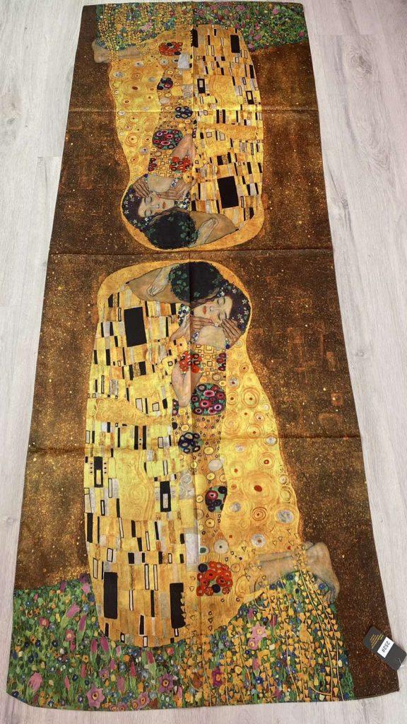 Шал The Kiss - Gustav Klimt 252#