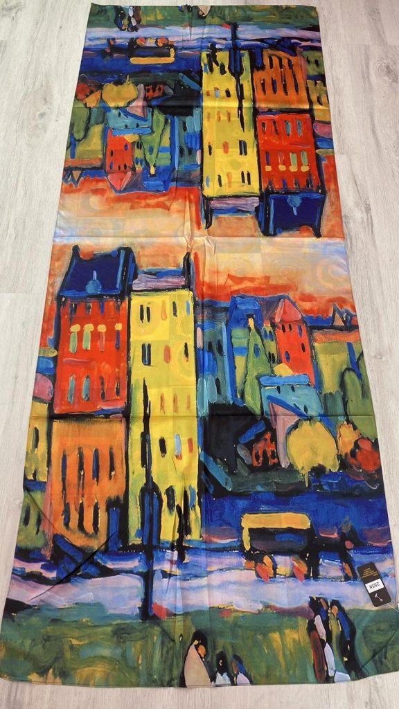 Шал Houses in Munich - Wassily Kandinsky 255