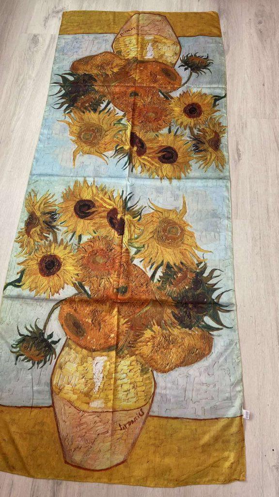 Шал Sunflowers - Vincent van Gogh 256