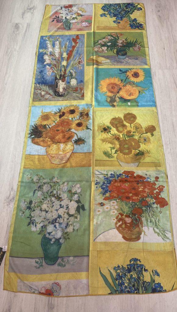 Шал Sunflowers - Vincent van Gogh 256 - 0