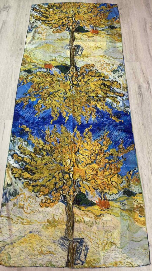 Шал Café Terrace at Night - Vincent van Gogh - 0