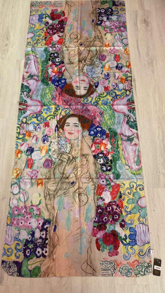Шал Portrait of Maria Munk - Gustav Klimt 265
