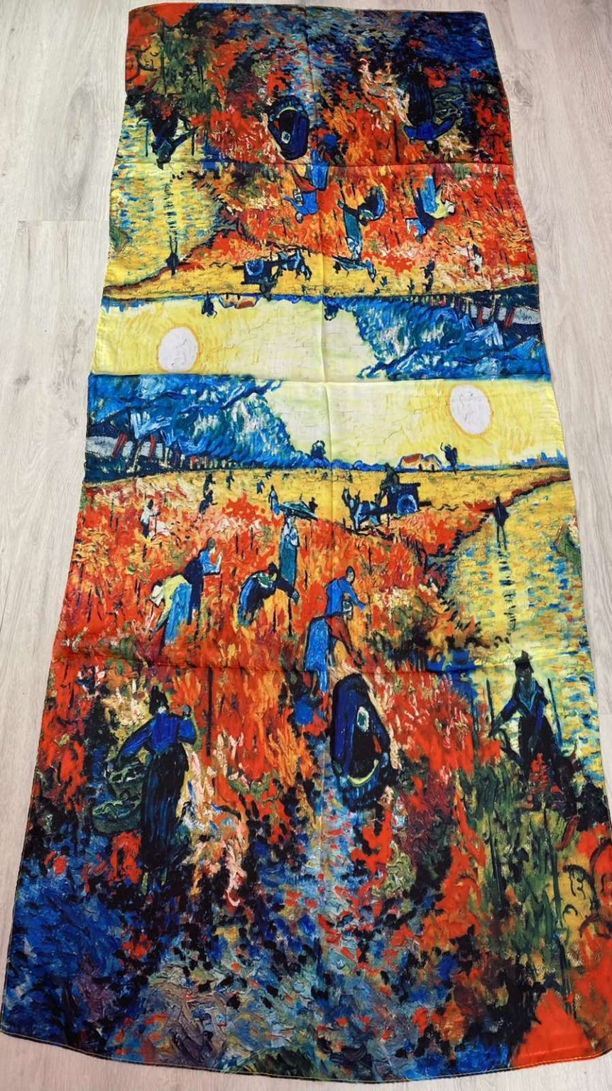 Копринен шал - картина The Harvest 501