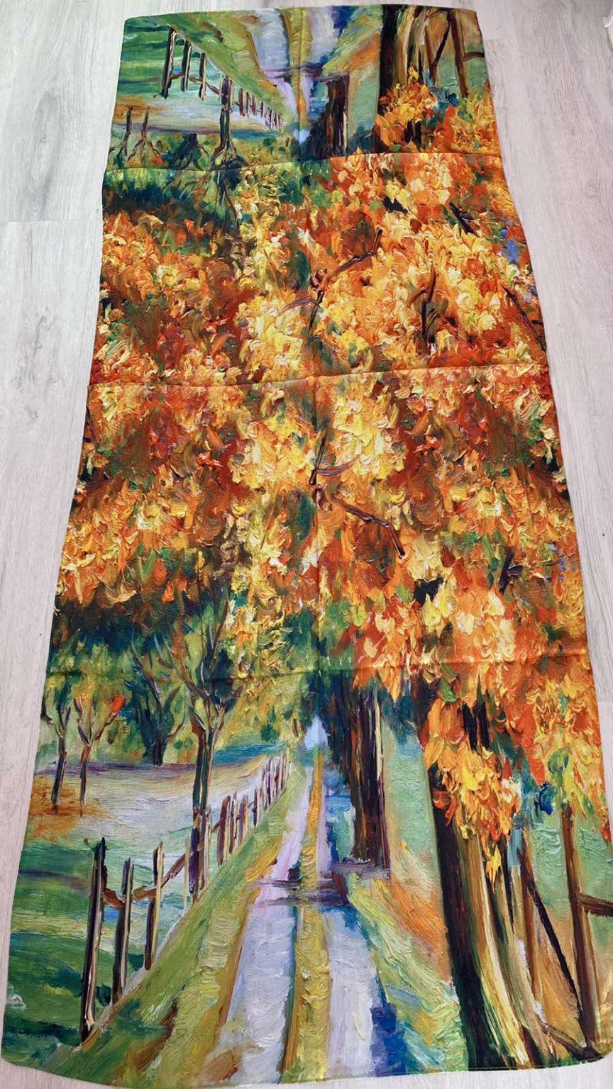 Копринен шал Beautiful nature 504