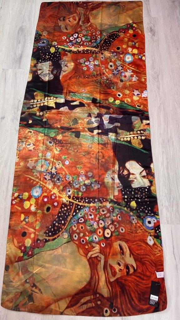 Шал Water Serpents II - Gustav Klimt 5160