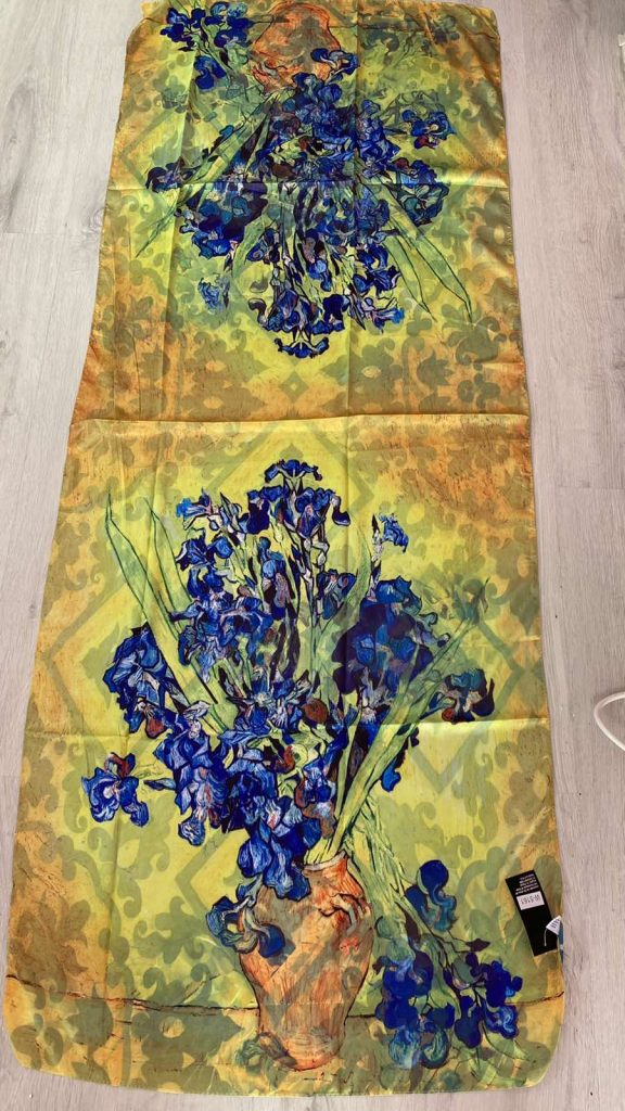 Шал Irises - Vincent van Gogh 5161