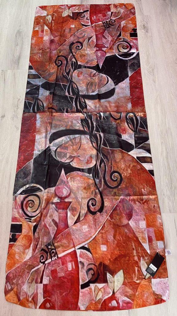 Шал с абстрактни мотиви на Ute Hadam 5162