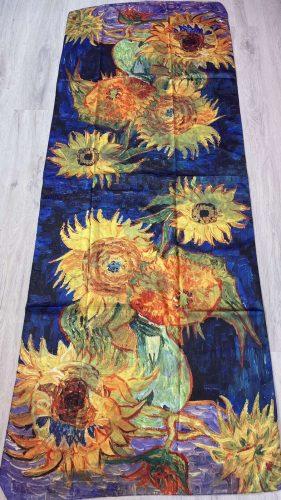 Шал Vase with Five Sunflowers - Vincent van Gogh 5165