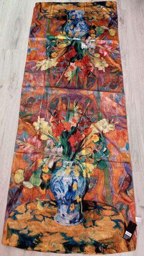 Копринен шал Bouquet in a vase 5166