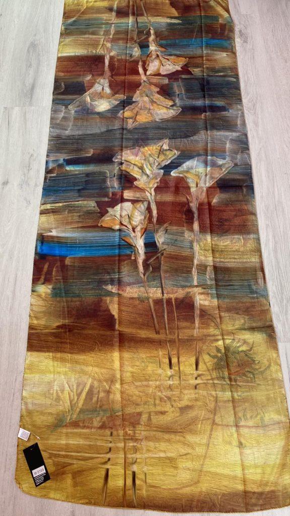 Копринен шал Sunflowers - Vincent van Gogh 5169 - 0