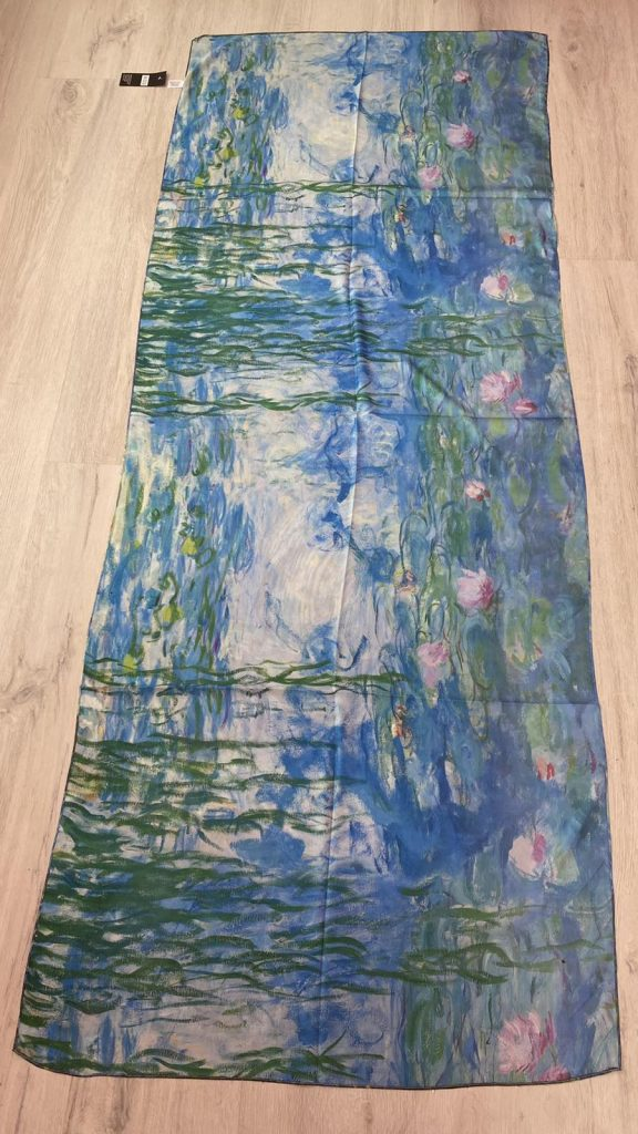 Шал Water Lilies - Claude Monet 5232
