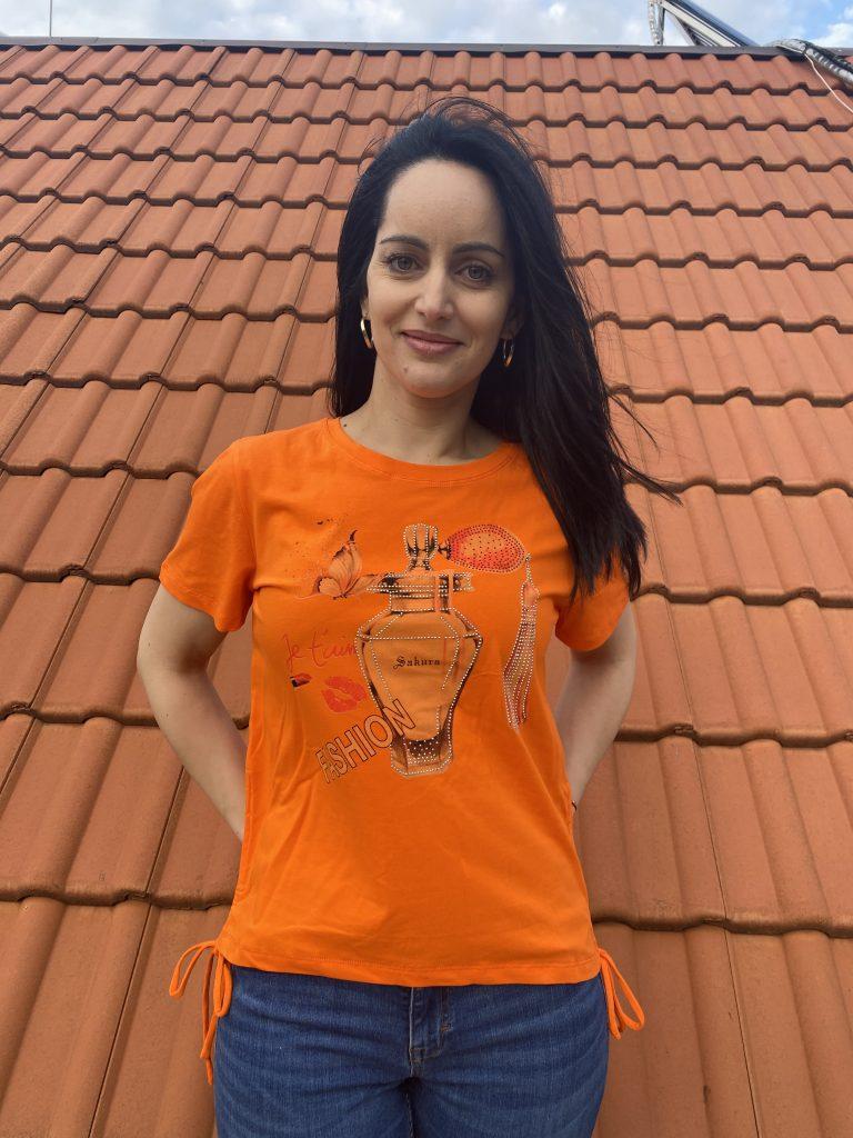 Тениска Perfume Amo & Roma 30236