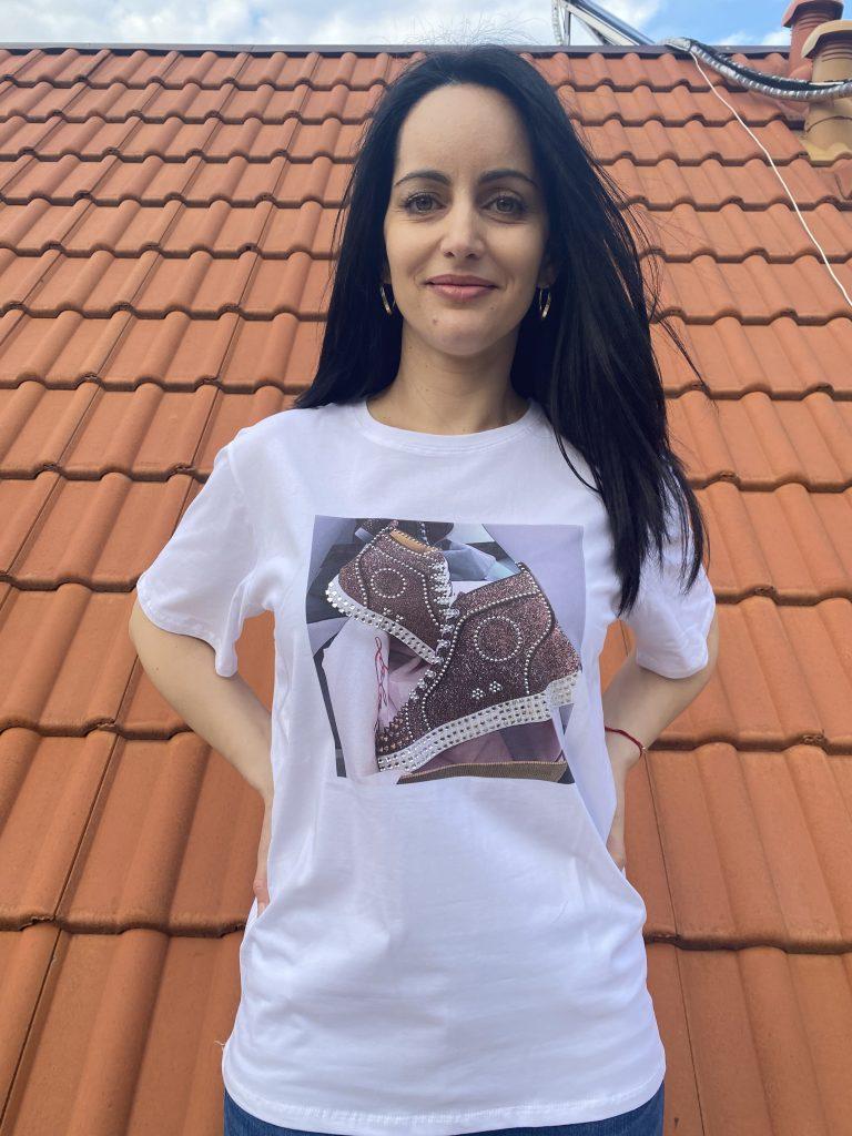 Тениска Sneakers Amo & Roma 92362 - 1