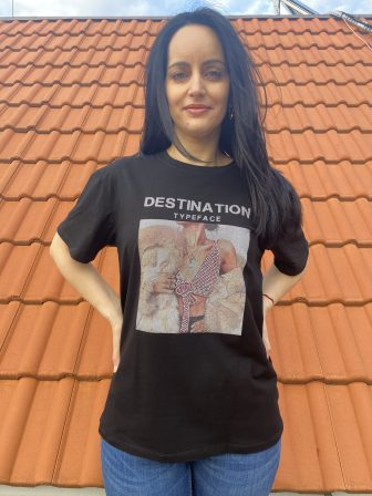 Тениска Destination typeface Amo & Roma 92363 - 1