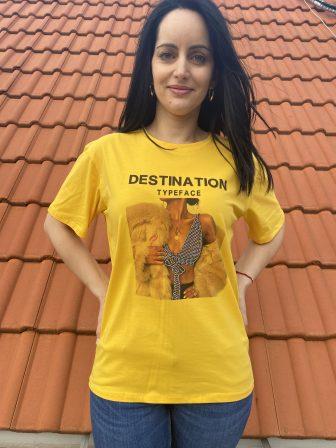 Тениска Destination typeface Amo & Roma 92363