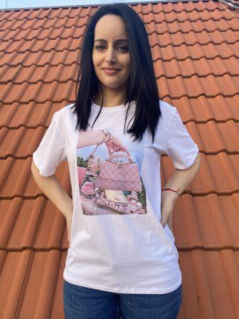 Тениска Make-up bag Amo & Roma - 0