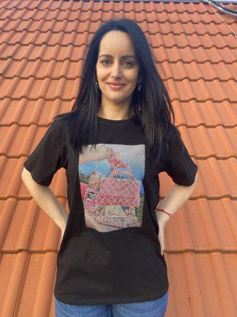 Тениска Make-up bag Amo & Roma - 1