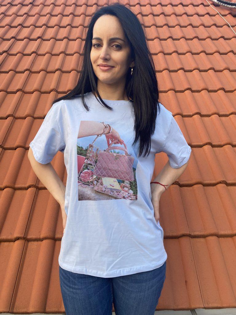 Тениска Make-up bag Amo & Roma