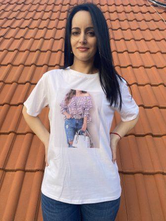 Тениска Shopping time Amo & Roma 92374