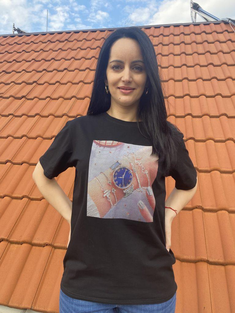 Тениска Hand watch Elegance Amo & Roma 92405 - 0